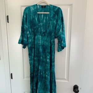 Vici Dresses - Tie dye maxi dress